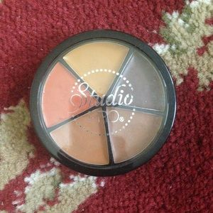 Bh cosmetics concealer wheel in dark